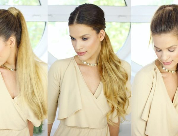 How to Wear Hair Extensions in A Ponytail