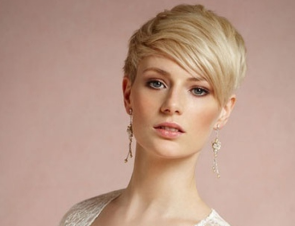How To Do A Beautiful Short Wedding Hairstyle