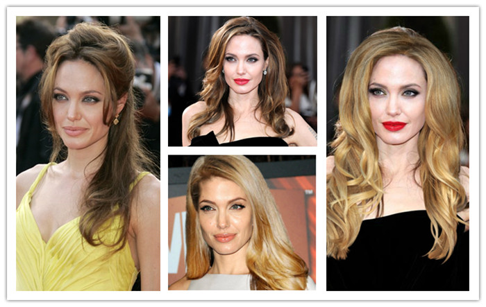 Angelina Jolie Inspired wigs