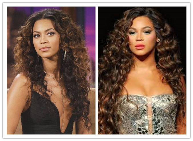 Beyonce Inspired Wigs