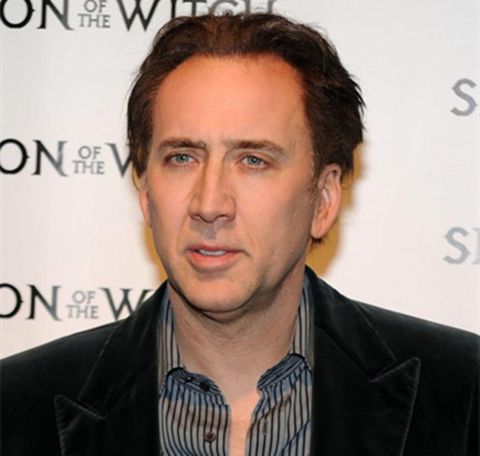 Nicholas Cage Inspired Wig