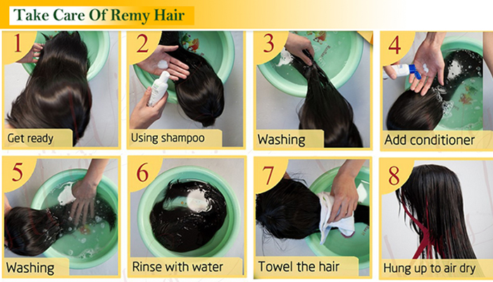 wash step by step
