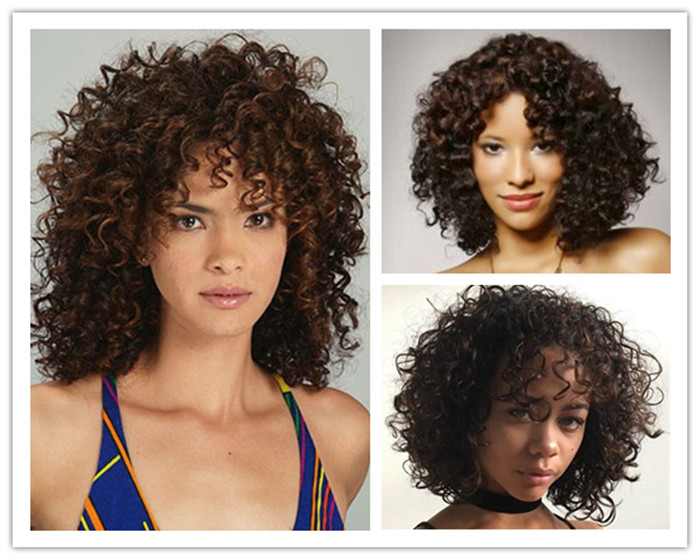 Naughty curly wigs