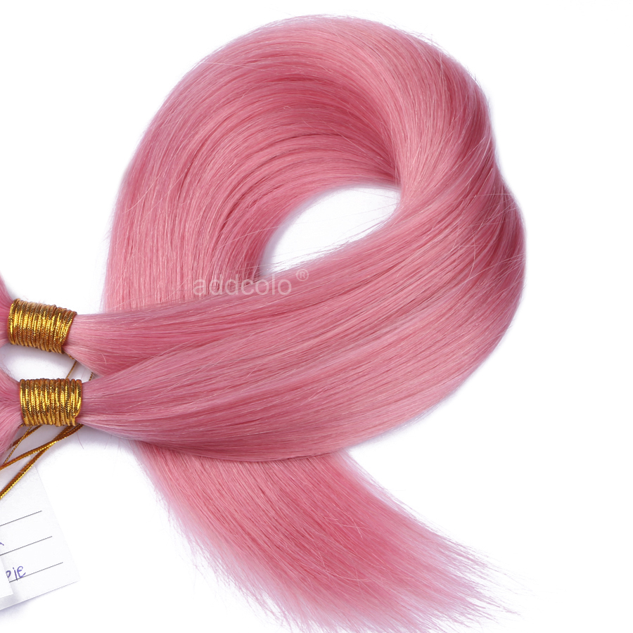 Hair Is A Great Way To Express Yourself This Style Has Combination Of Pink