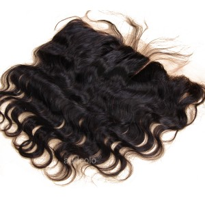 【Frontals】13x4 Lace Frontal Indian Remy Hair Body Wave Human Hair Frontal