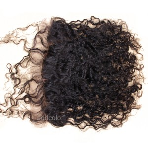 【Frontals】13x4 Lace Frontal Indian Human Hair Curly Hair Frontal