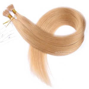 【Addcolo 10A】I Tip Hair Extensions Brazilian Hair Color #27
