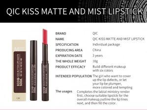 Kiss Matte and Mist Lipstick
