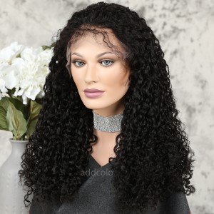 Best selling Lace Front Wigs Natural Color Brazilian Hair Curly Eleven Wig