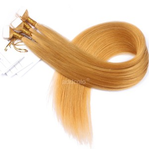 【Addcolo 10A】Tape In Hair Extensions 100% Human Hair Color #144