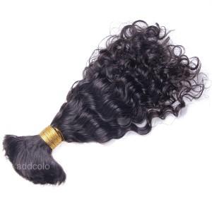 【Addcolo 8A】Bulk Human Hair for Braiding Curly Brazilian Hair
