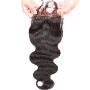 "【Closures】10A Virgin Hair Closure Brazilian Hair Body Wave 4""x4"" Closure"