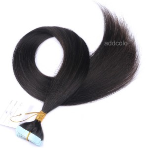 【Addcolo 10A】Tape In Hair Extensions Brazilian Hair Color #2
