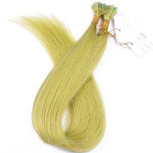 【Addcolo 10A】Tape In Hair Extensions Malaysian Hair #Green Color