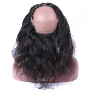 【360 Frontal】Brazilian Hair 360 Lace Frontal Human Hair Body Wave 360 Frontal