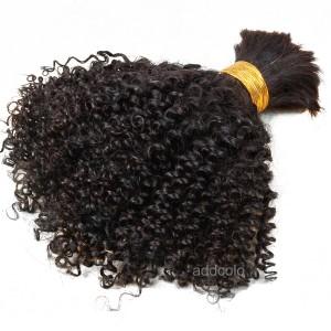 【Addcolo 8A】Bulk Human Hair for Braiding Brazilian Hair Kinky Curly