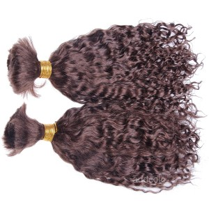 【Addcolo 8A】Bulk Human Hair for Braiding Curly Brazilian Hair