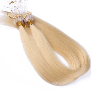 【Addcolo 10A】Micro Loop Hair Extensions Brazilian Hair Color #613