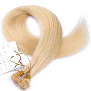 【Addcolo 10A】U Tip Hair Extensions Brazilian Hair Color #613