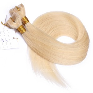 【Addcolo 10A】Tape In Hair Extensions Brazilian Hair Color #613