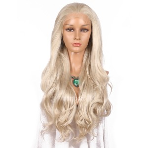 【Wigs】Synthetic Wigs Super Wavy #16/#1001 Mixed Color Lace Front Wig