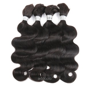 【Addcolo 8A】Bulk Human Hair for Braiding Brazilian Hair Body Wave