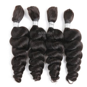 【Addcolo 8A】Bulk Human Hair for Braiding Brazilian Hair Loose Wave