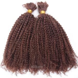 【Addcolo 8A】Bulk Human Hair for Braiding Afro Kinky Curly Brazilian Hair