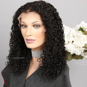 New Arrival Curly Lace Front Wigs Natural Color Human Hair Brazilian Hair Wig