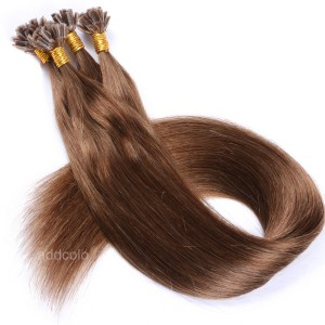 【Addcolo 10A】U Tip Hair Extensions Brazilian Hair Color #10