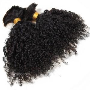 【Addcolo 8A】Bulk Human Hair for Braiding Brazilian Hair Tight Curly