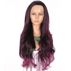 【Wigs】Synthetic Wigs Super Wavy #4/#3700 Highlight Color Lace Front Wig
