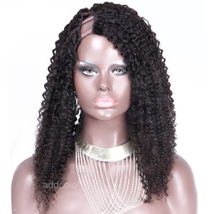 Upart Wig Brazilian Hair 150% Heavy Density Afro Kinky Curly Wig For Black Women
