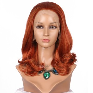 【Wigs】Synthetic Wigs Bouncy Curly Color #C003 Lace Front Wig