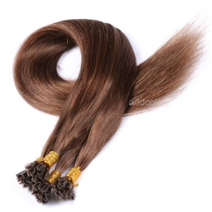 【Addcolo 10A】U Tip Hair Extensions Peruvian Hair Color #6