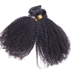 【Addcolo 8A】Bulk Human Hair for Braiding Brazilian Hair Afro Kinkly Curly