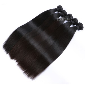 【Addcolo 10A】Hair Weave Indian Virgin Hair Silky Straight Hair Bundle