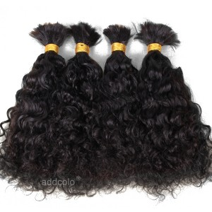 【Addcolo 8A】Bulk Human Hair for Braiding Brazilian Hair Loose Curly