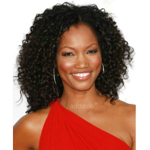 【Wigs】Garcelle Beauvais Human Hair Wigs Afro Kinky Curly Wig