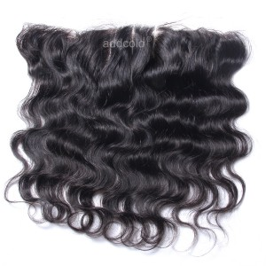 【Frontals】10A Virgin Human Hair 13x4 Lace Frontal Peruvian Hair Body Wave Frontal