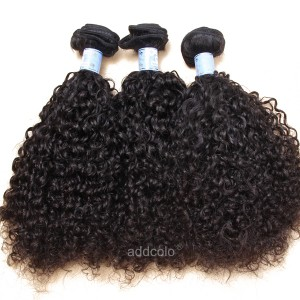 【Addcolo 8A】Hair Weave Natural Color Brazilian Curly Hair Bundles