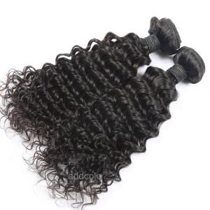 【Addcolo 10A】Hair Weave Brazilian Hair Deep Curly
