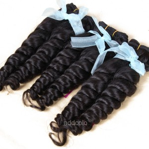 【Addcolo 8A】Hair Weave Indian Hair Romance Curly Hair Bundle