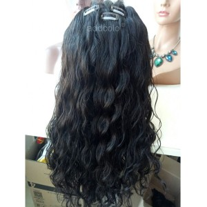 Natural Looking Silk Top Lace Wigs Brazilian Hair Natural Wave Human Hair Wig