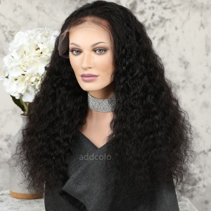 Silk Top Wigs Brazilian Hair Deep Wave Lace Front Human Hair Wigs for Black Women