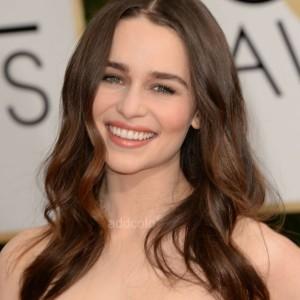 【Wigs】Emilia Clarke Human Hair Wigs Loose Wave Wig
