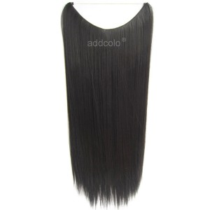 【Addcolo 8A】Flip In Hair Extensions Brazilian Hair Straight