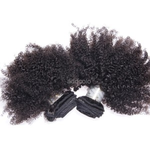 【Addcolo 8A】Hair Weave Brazilian Hair Afro Kinky Curly