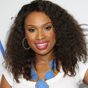 【Wigs】Jennifer Hudson Human Hair Wigs Curly Lace Wig