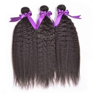 【Addcolo 8A】Hair Weave Brazilian Hair Kinky Straight
